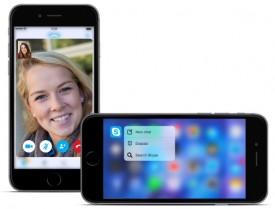 3d touch skype ios