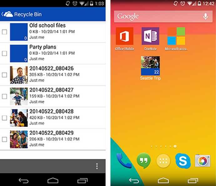 Actualización de OneDrive para Windows Phone