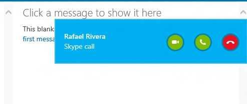 Actualizaciones en Skype