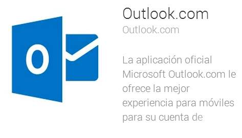 Actualizar Outlook.com en Android