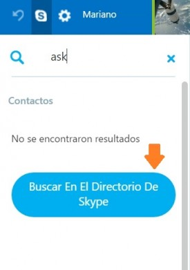 Agregar contactos de Skype desde Outlook.com