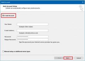 Agregar una cuenta de Outlook.com a Outlook