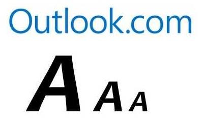 Ampliar el tamaño del texto en Outlook.com
