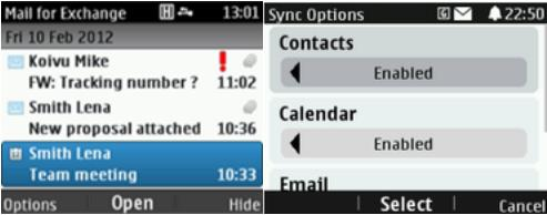 Aplicación para leer correos electrónicos en Nokia Asha
