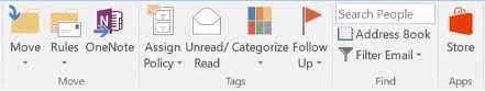 Apps en Outlook para Windows 10