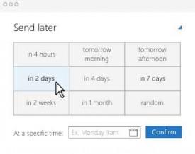 Boomerang para Outlook.com