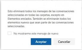 Cómo ignorar conversaciones en Outlook Preview