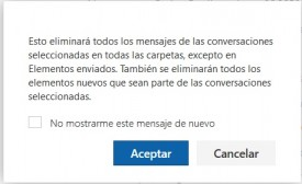 Cómo ignorar conversaciones en Outlook Preview
