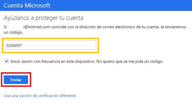 Cerrar una cuenta en Outlook.com