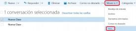 Copiar correos en Outlook Preview
