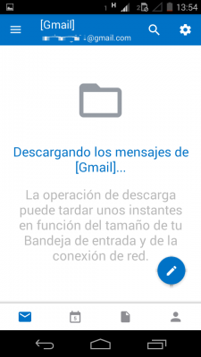 Correos programados en Outlook para Android