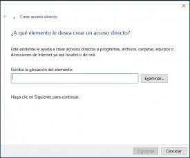 Crear acceso directo a Outlook.com
