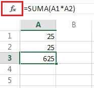 Crear fórmulas en Excel para Outlook.com
