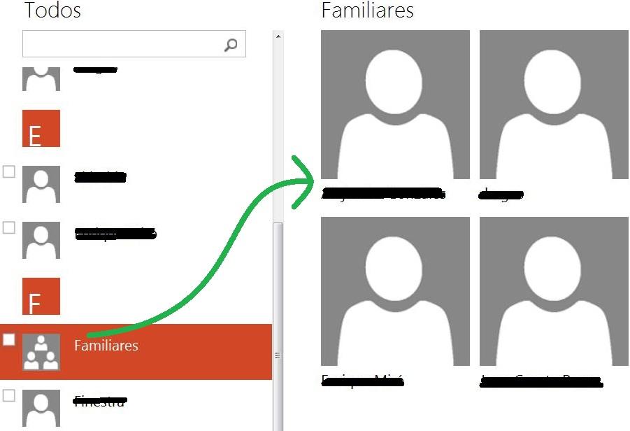 Crear un grupo de contactos en Outlook