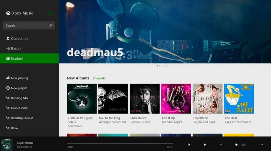 Descargar Xbox Music para Windows