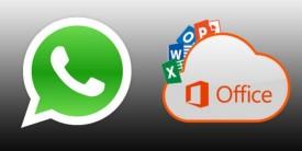 Envío de documentos de Office a través de WhatsApp