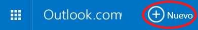 Enviar correos masivamente en Outlook.com
