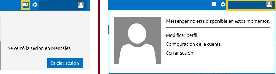 Error en el chat de Outlook.com