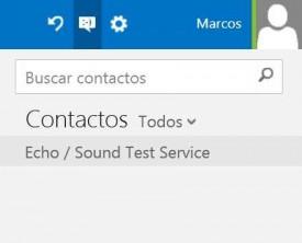 Filtrar contactos de Skype