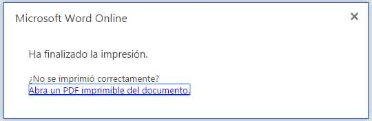Imprimir PDF Word online
