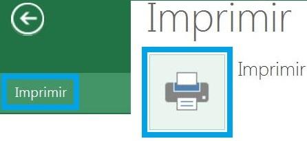 Imprimir una hoja de cálculo en SkyDrive