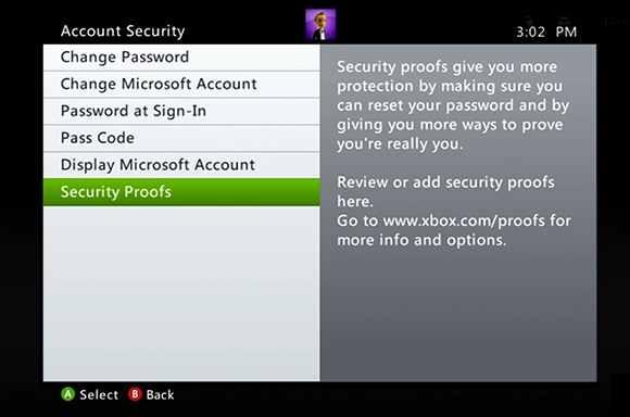 Informacion de seguridad XBox OneDrive