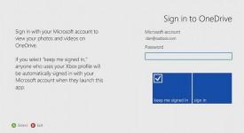 Iniciar sesión en OneDrive para Xbox