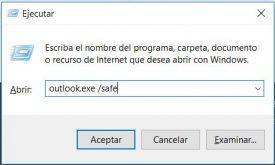 Inicio de sesión en modo seguro en Outlook