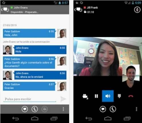 Instalar Lync 2013 para Android