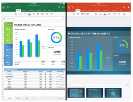 Las aplicaciones de Office se actualizan para iPad Pro
