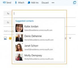 Mejoras en la agenda de contactos de Outlook.com