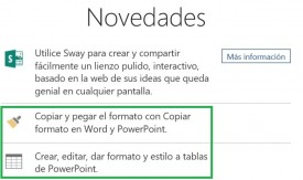 Noticias en Office Online
