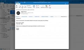 Nueva ventana de redacción de mensajes en Outlook para Mac