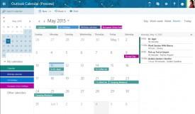 Nuevo calendario para Outlook.com