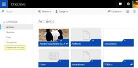 Nuevo entorno de OneDrive