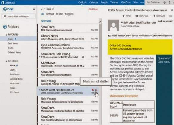 Nuevo sistema de prioridades en Outlook.com