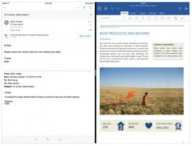 Office se actualiza para iPad Pro