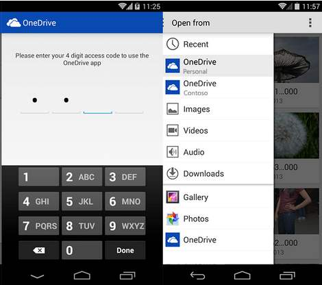 OneDrive para Android se actualiza