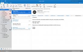 Outlook para Mac full screen