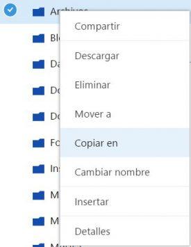 Pasos para compartir archivos en OneDrive