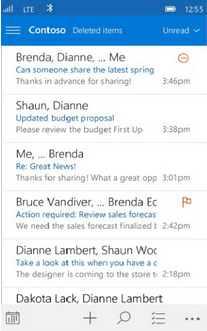 Primeras imágenes de Outlook para Windows 10