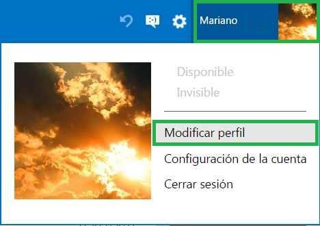 Problemas con la foto de perfil en Outlook.com