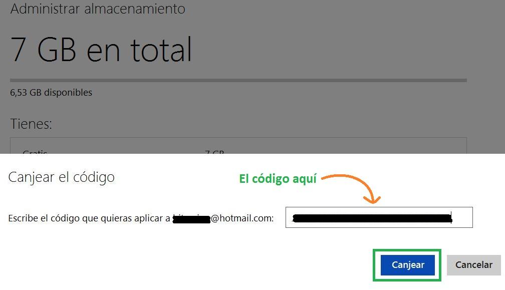 Promoción de Microsoft para obtener 20GB en SkyDrive
