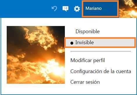Quitar el chat de Outlook.com