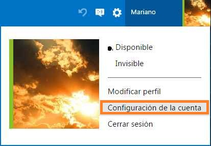 Quitar los dispositivos de confianza en Outlook.com
