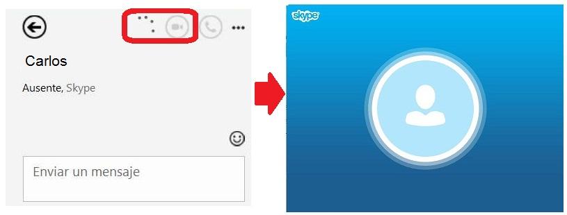 Realizar videollamadas en HD con Skype para Outlook