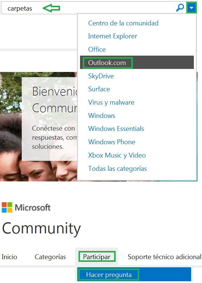 Servicio de ayuda Microsoft Community