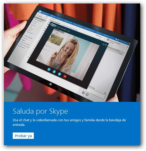 Skype para navegador en todos los países