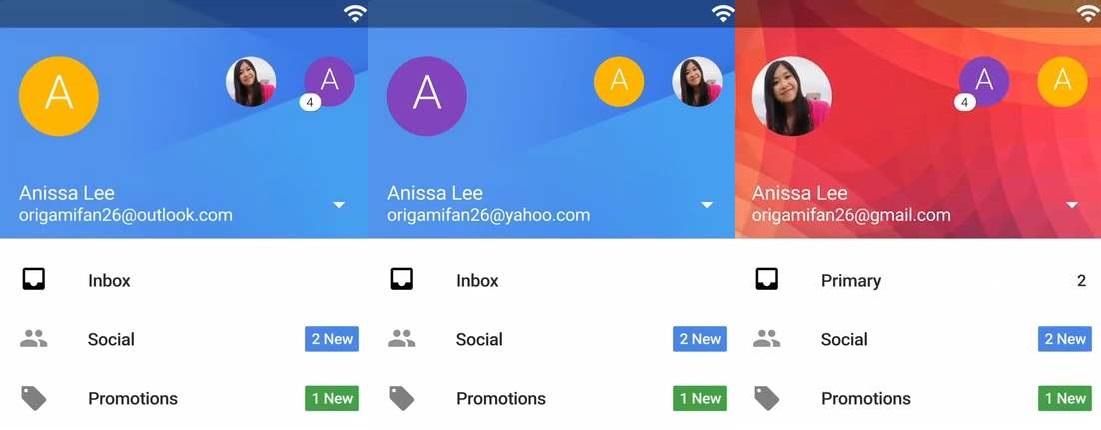 Utilizar una cuenta de Outlook en Gmail App