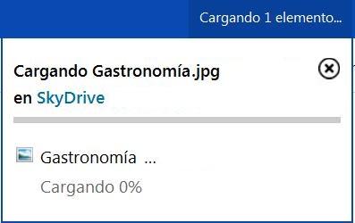 Velocidad de carga y descarga de SkyDrive